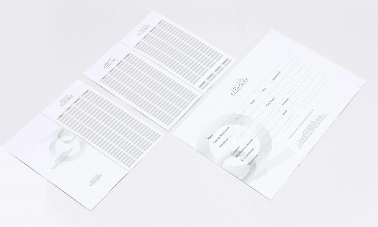 Ficha Cliente e Cartão de marcações