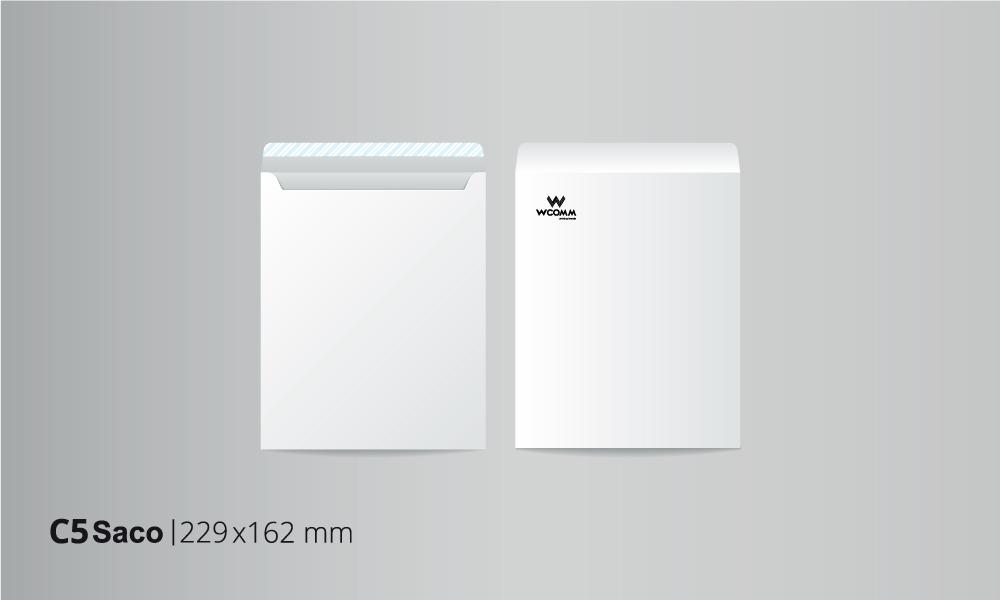 Envelope Saco C5 BW