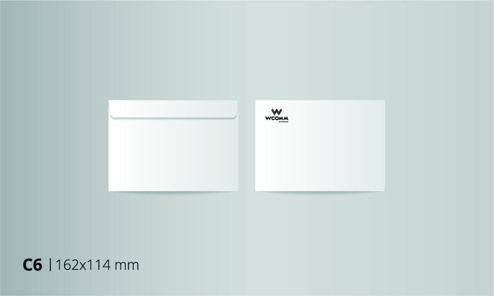 Envelopes C6 BW
